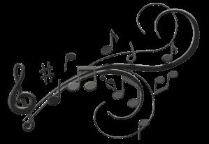 Music Note Swoosh
